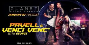 Planet Club - Varna fr. Pavell & Venc Venc'