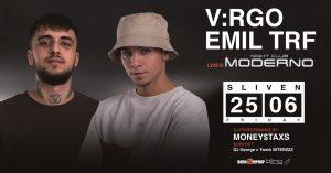 Club Moderno - Сливен - V:rgo & TRF
